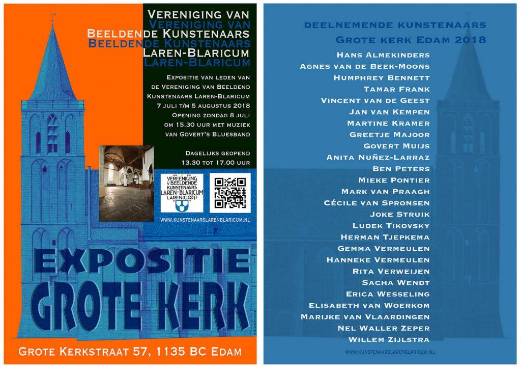 7 Juli Tm 5 Augustus Expositie Van Vereniging Van Beeldende